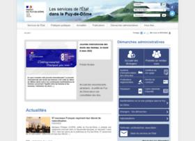 Puy-de-dome.gouv.fr thumbnail