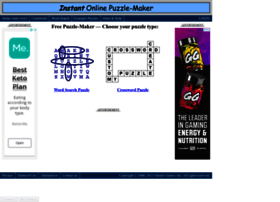 puzzle-maker.com at WI. Free Online Puzzle Maker