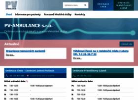 Pv-ambulance.cz thumbnail