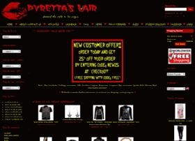 Pyrettaslair.com thumbnail