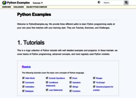 Pythonexamples.org thumbnail