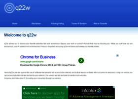 Q22w.info thumbnail