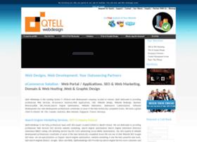 Qtellwebdesign.ie thumbnail