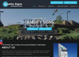 Qualitysigns.cc thumbnail