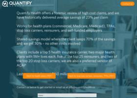 Quantifyhealth.co thumbnail