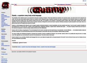 Quanty.org thumbnail