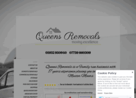 Queensremovals.co.uk thumbnail