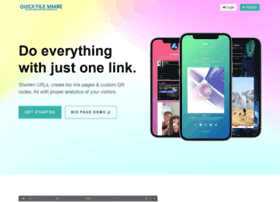 quickfileshare org at WI  Upload Files - Quick File Share