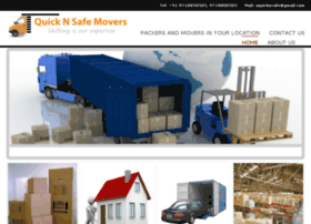 Quicknsafemovers.in thumbnail