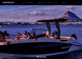 Quicksilver-boats.com thumbnail