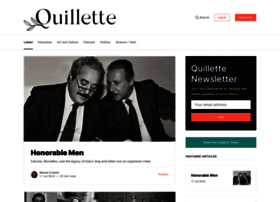 quillette.com at WI. Home - Quillette