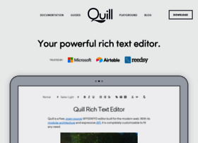 Quill Js