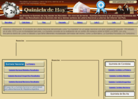 Quinieladehoy.com.ar thumbnail