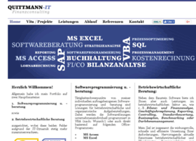Quittmann-it.de thumbnail