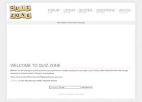Quiz-zone.co.uk thumbnail