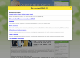 Quornmedicalcentre.co.uk thumbnail