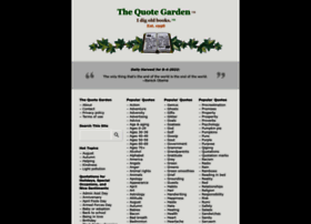 Quotegarden.com thumbnail