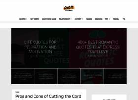 Quotelicious.com thumbnail