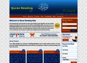 Quranreadinghelp.com thumbnail