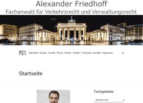 Ra-friedhoff.de thumbnail