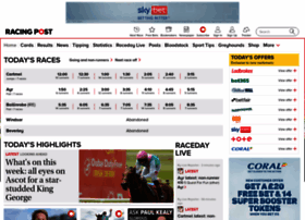 Racingpost.co.uk thumbnail