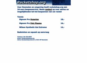 Racketshop.org thumbnail
