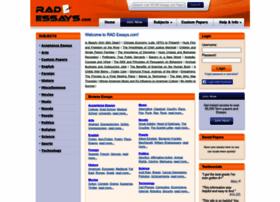 rad essays.com