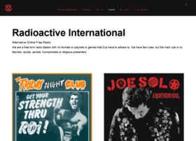 Radioactiveinternational.org thumbnail
