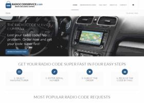 Radiocodeservice.com thumbnail