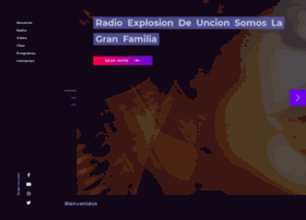 Radioexplosiondeuncion.com thumbnail