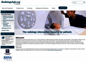 Radiologyinfo.org thumbnail