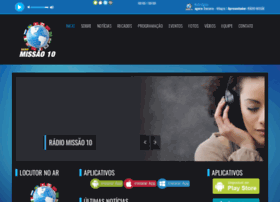 Radiomissao10.com.br thumbnail