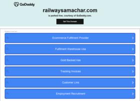 Railwaysamachar.com thumbnail