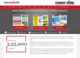 Rajasthanpatrika.releasemyad.com thumbnail