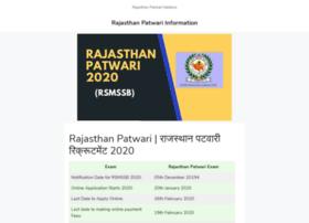 Rajasthanpatwari.in thumbnail