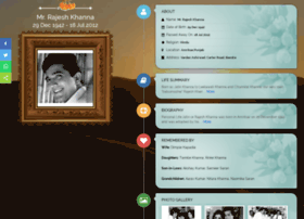 Rajesh-khanna.tributes.in thumbnail