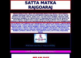 Boss Matka Fast Result at Website Informer