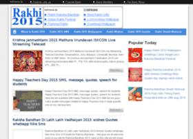 Rakshabandhan2015festival.in thumbnail