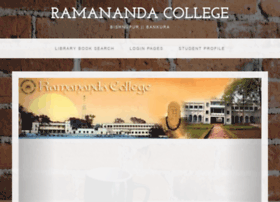 Ramanandacollegeonlineadmission.in thumbnail