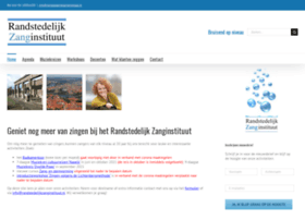 Randstedelijk-zanginstituut.nl thumbnail