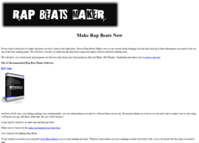 Rap-beats-maker.com thumbnail