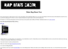 Rap-beats-maker.com thumbnail