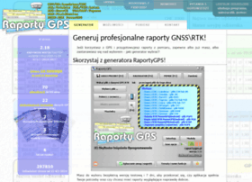 Raportygps.pl thumbnail