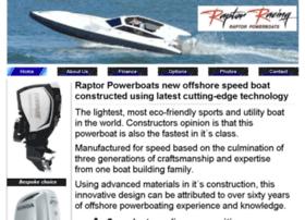 Raptorpowerboats.net thumbnail