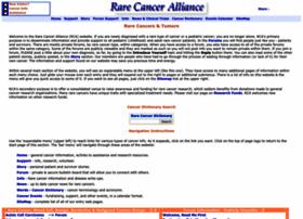 Rare-cancer.org thumbnail
