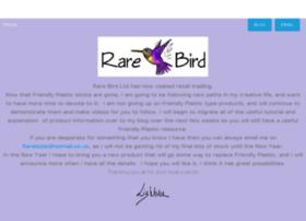 Rarebird.ltd.uk thumbnail