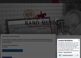 Raro-music.de thumbnail