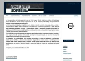 Rassegnaitalianadicriminologia.it thumbnail