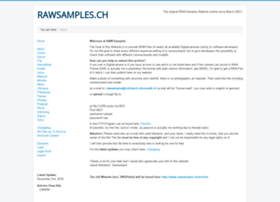 Rawsamples.ch thumbnail