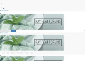 Raypeatforums.org thumbnail